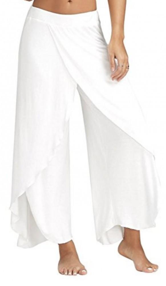 Vovotrade White Yoga Pants