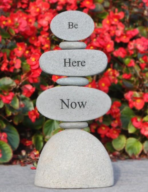 Inspiration Stone Statue