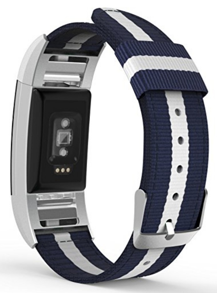 Woven Nylon Band for Fitbit Charge 2