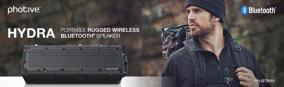 Photive Waterproof speaker