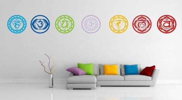 Chakra Wall Decals
