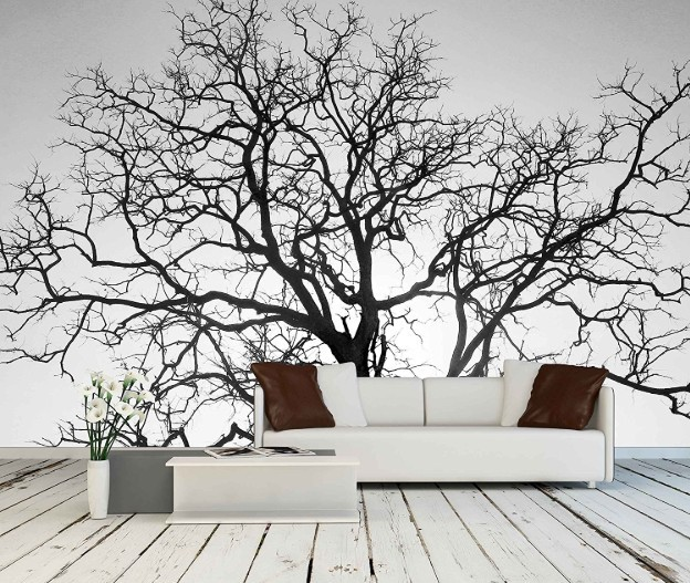 Removable Wall Tree Mural