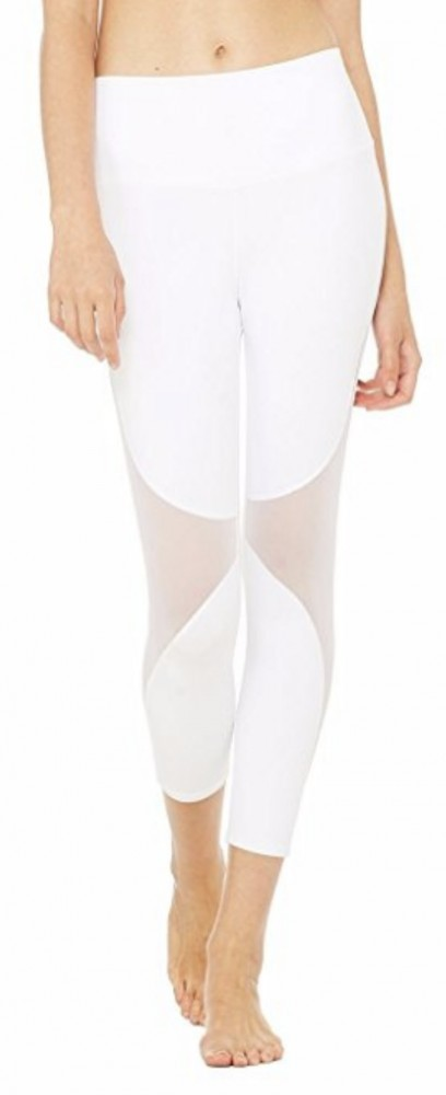 CFR Mesh White Yoga Pants