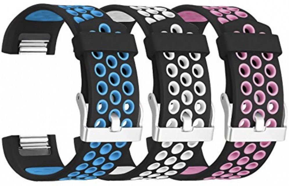Breathable Silicone Fitbit Charge 2 Band