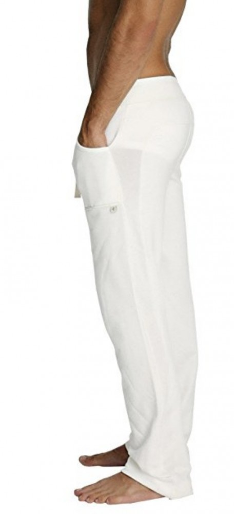 White Eco-Track Pants