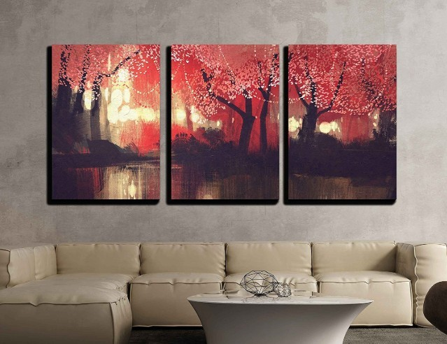 Three Piece Canvas Wall Art 1