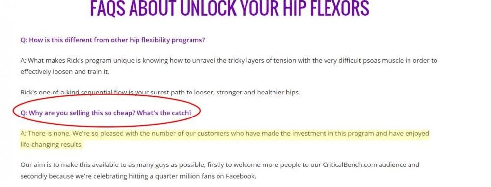 Unlock Your Hip Flexors Scam or Legit? - My Honest Review