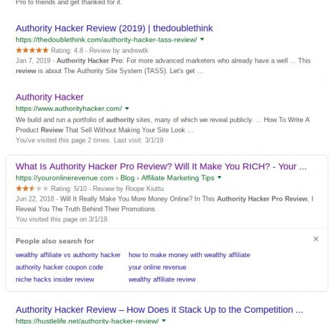 authority hacker reviews