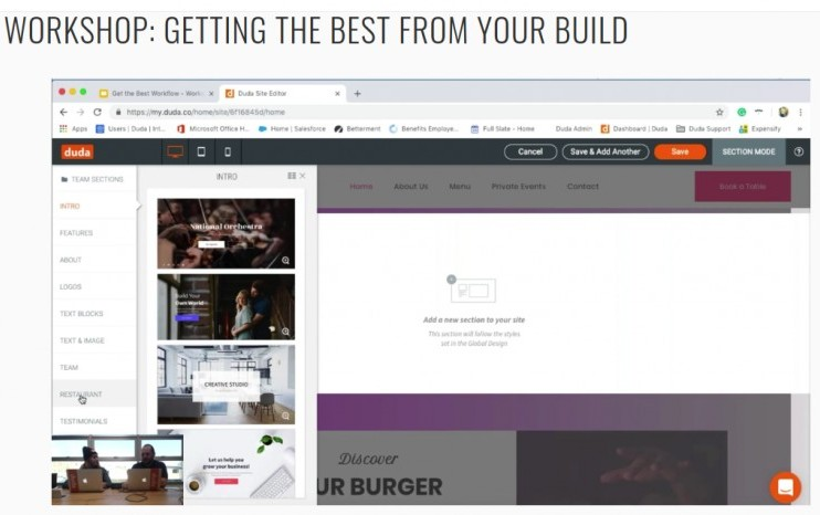 duda website builder review