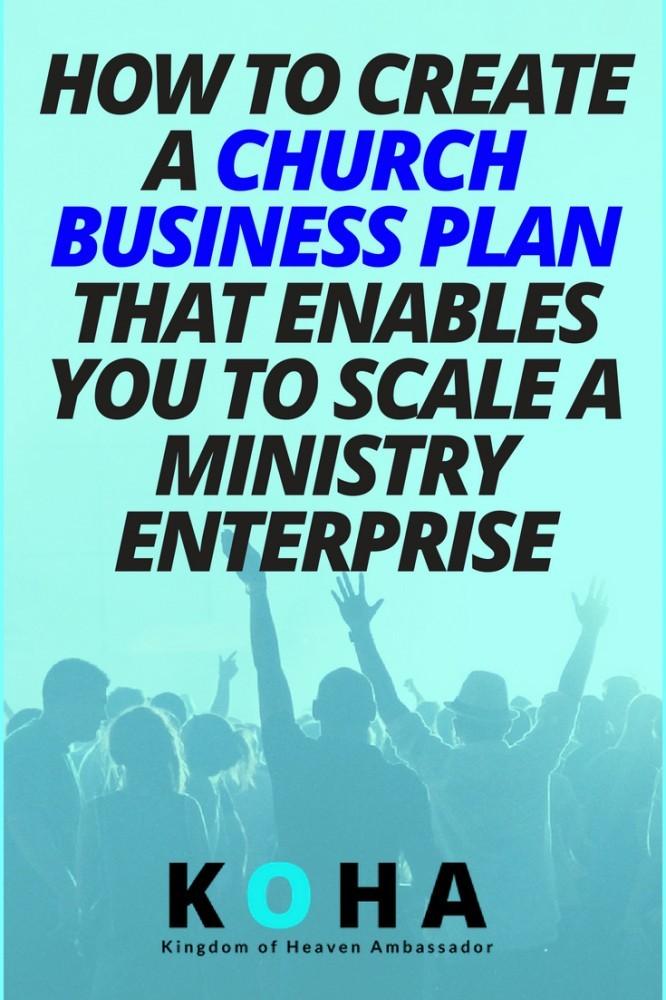 church business plan