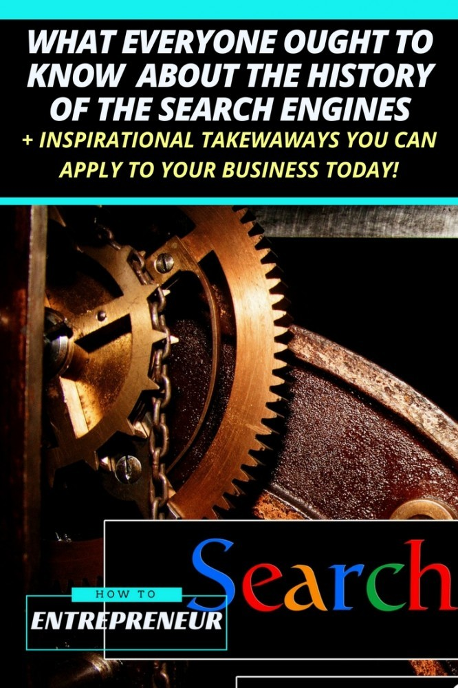 the history of the search engines
