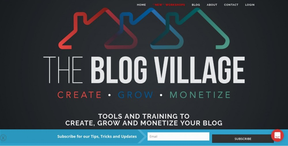the blog village review