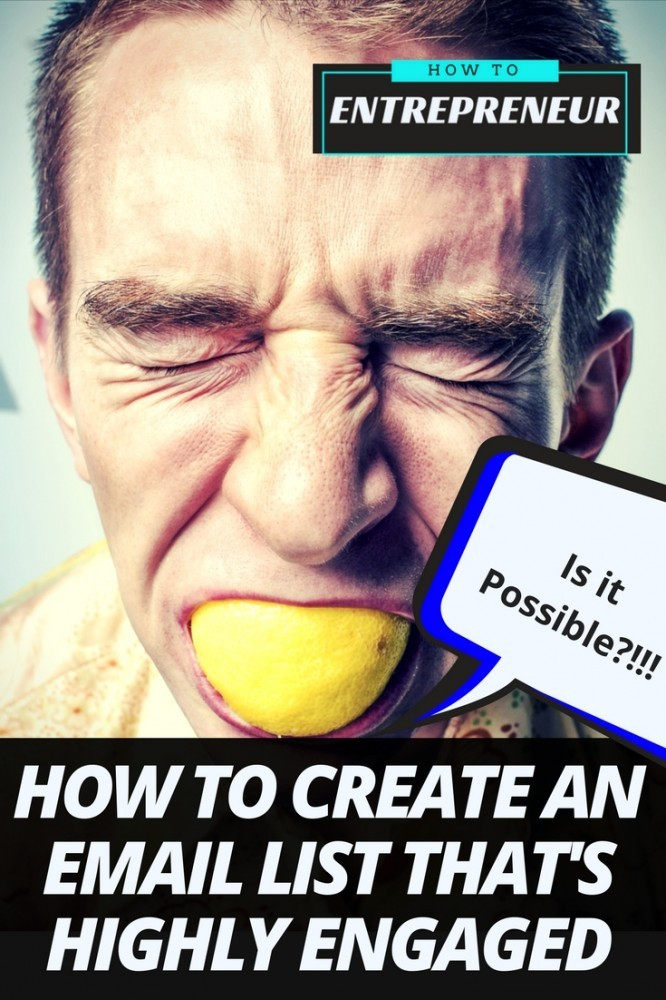 how to create an email list