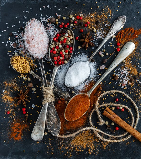 what kind of food did they eat in the bible? Seasonings, spices, and herbs