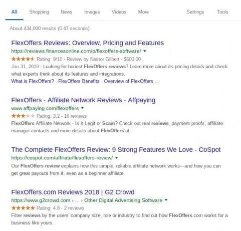 best affiliate marketing networks - #1 Flexoffers