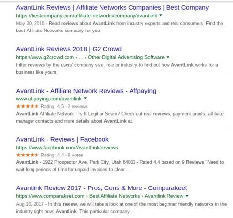 avantlink reviews