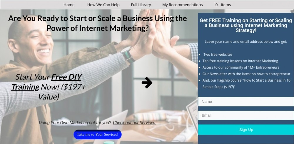 what is internet marketing strategy