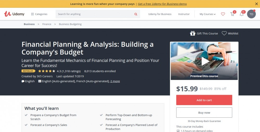 A Recommended course on How to Create a Budget