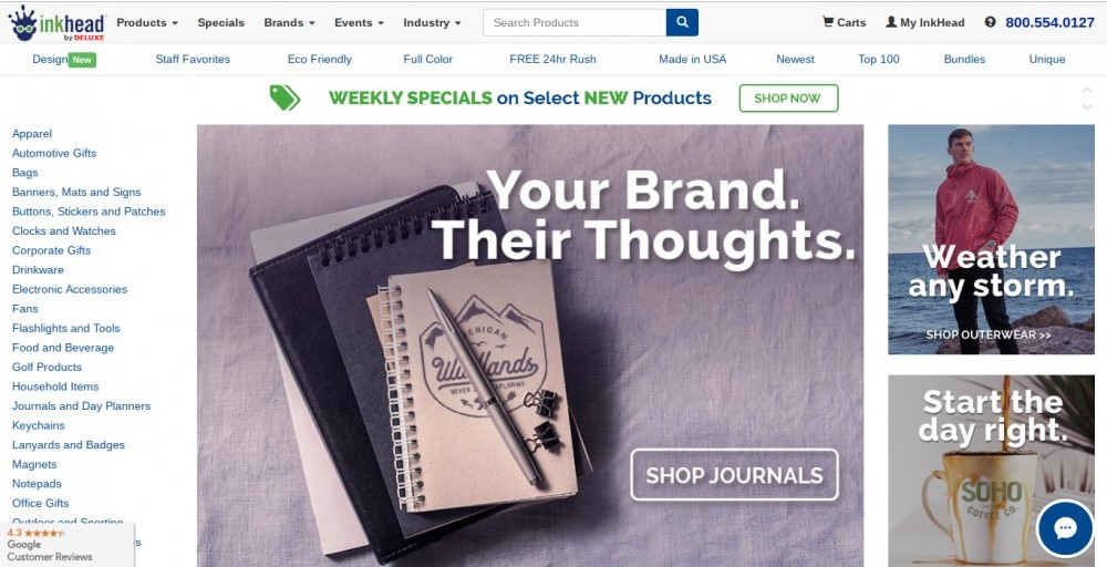 inkhead promotional products review