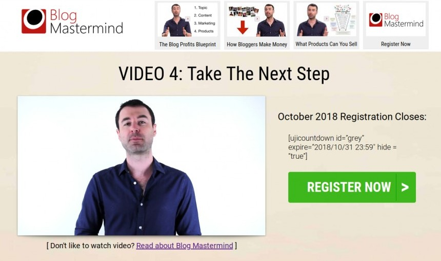 the blog mastermind review Yaro Starak