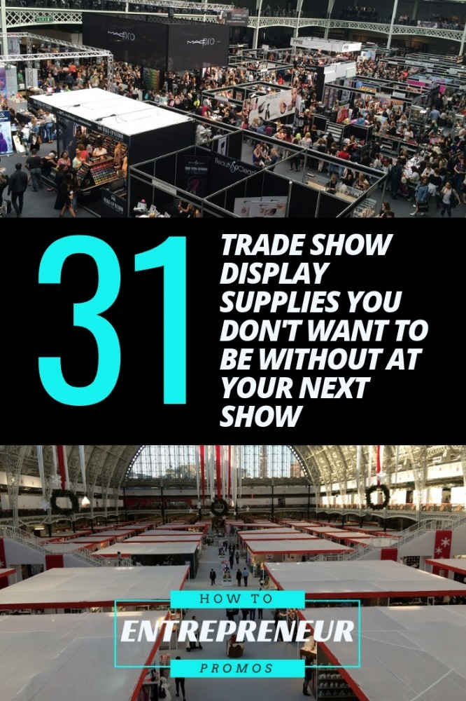 trade show display supplies