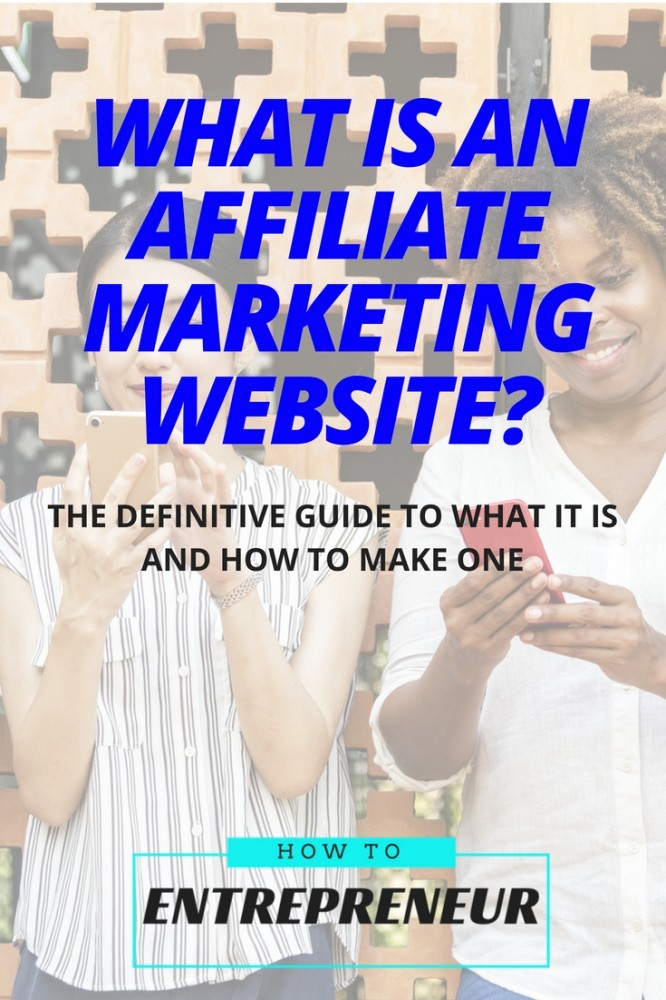 what is an affiliate marketing website
