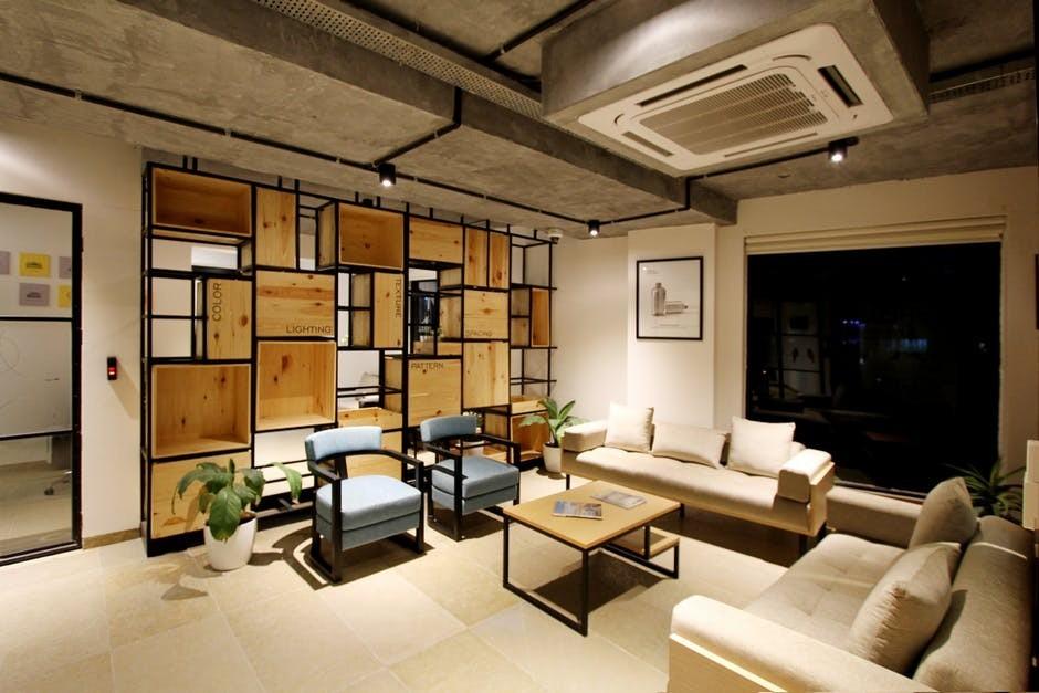 refinished living room furniture