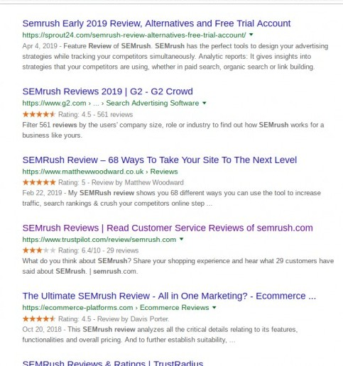 semrush review | what others are saying