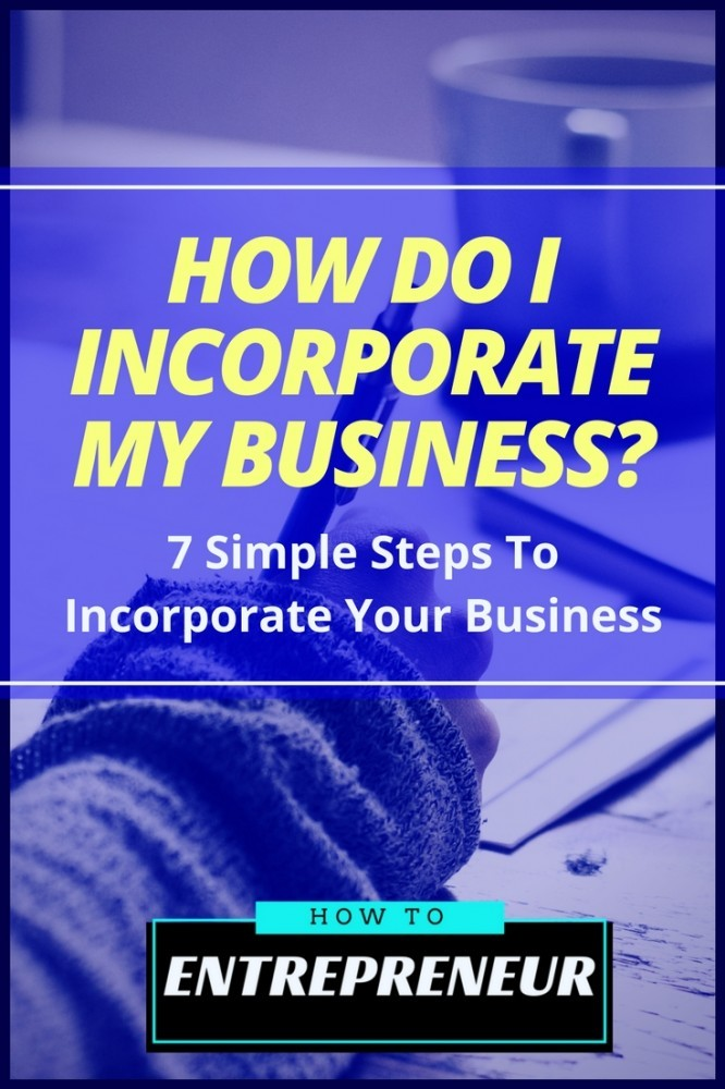 How Do I Incorporate My Business?