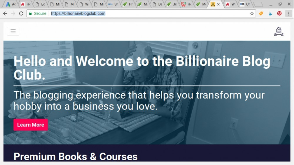 billionaire blog club review