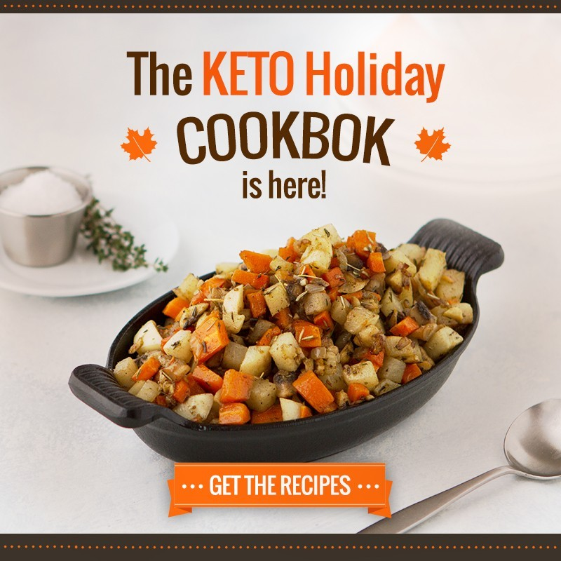 The Keto Holiday Cookbook makes planning easy!