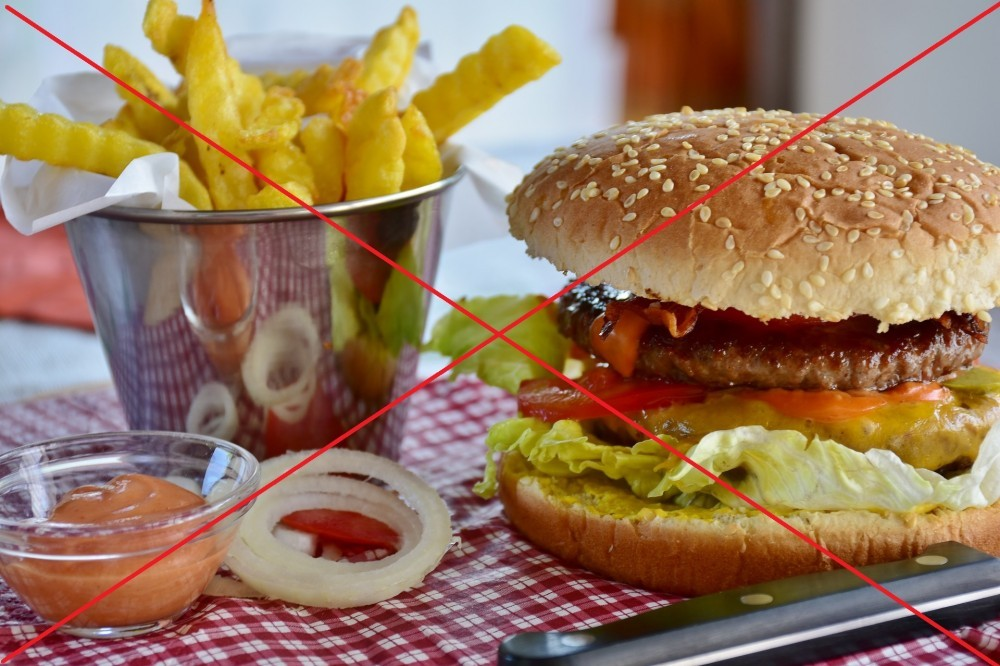 Fight the FAT - Stay away from FAST FOOD!