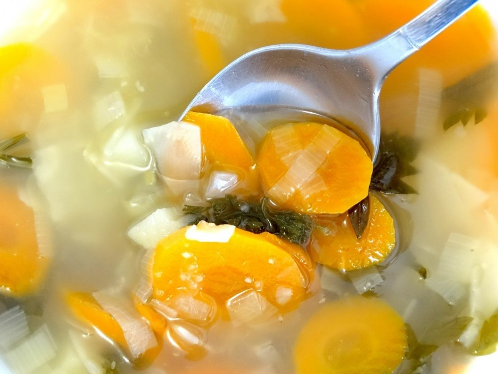 Whole Foods Diet Plan; 7-Day Veggie Soup Recipe
