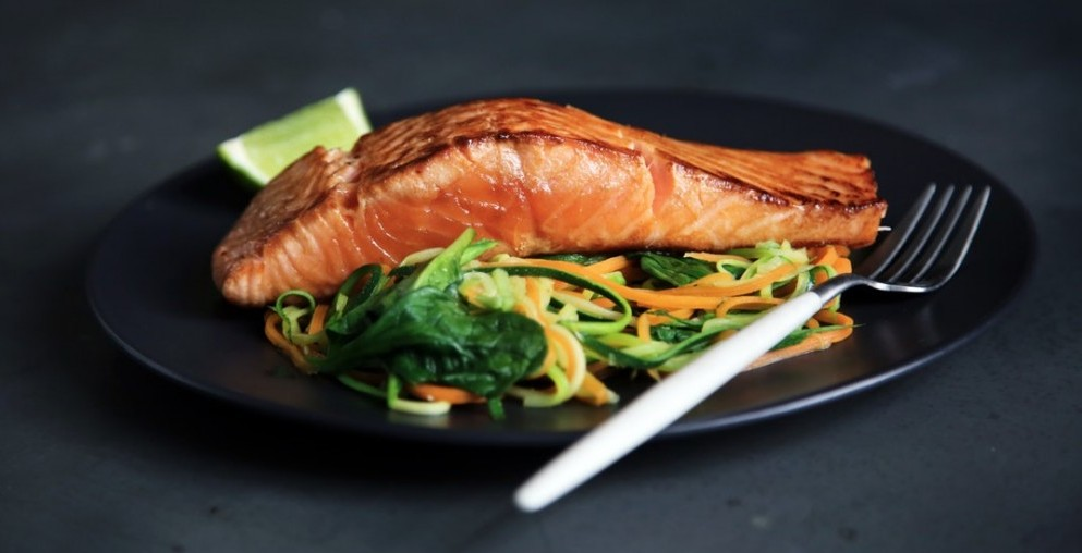 Salmon is a great choice for high-protein muscle support diet