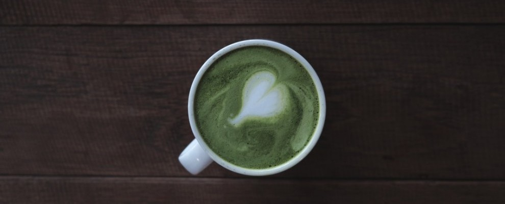 Spicy Matcha Tea Latte