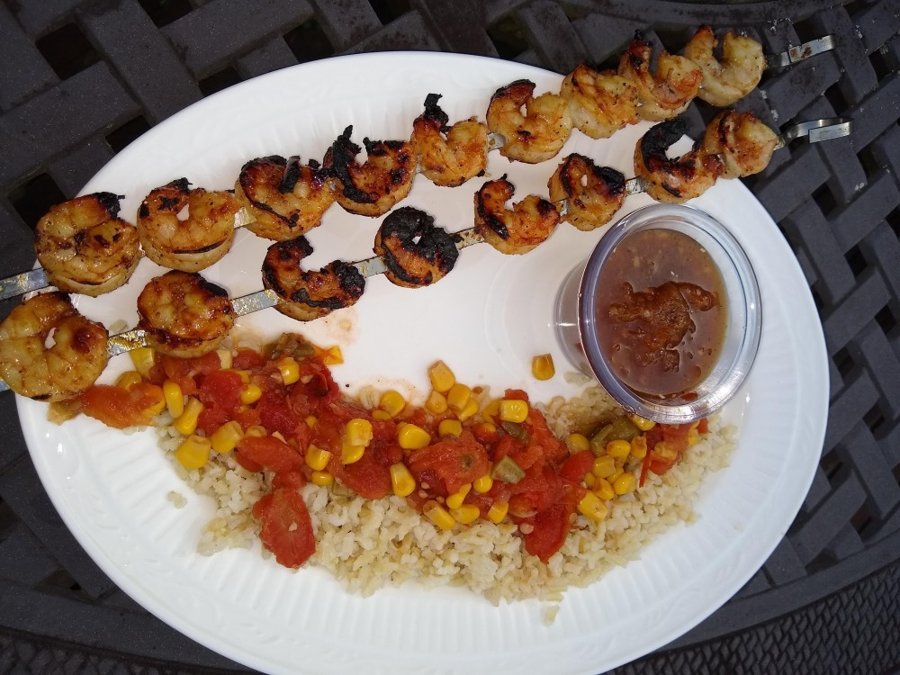 Grilled Shrimp Recipes, Skewers