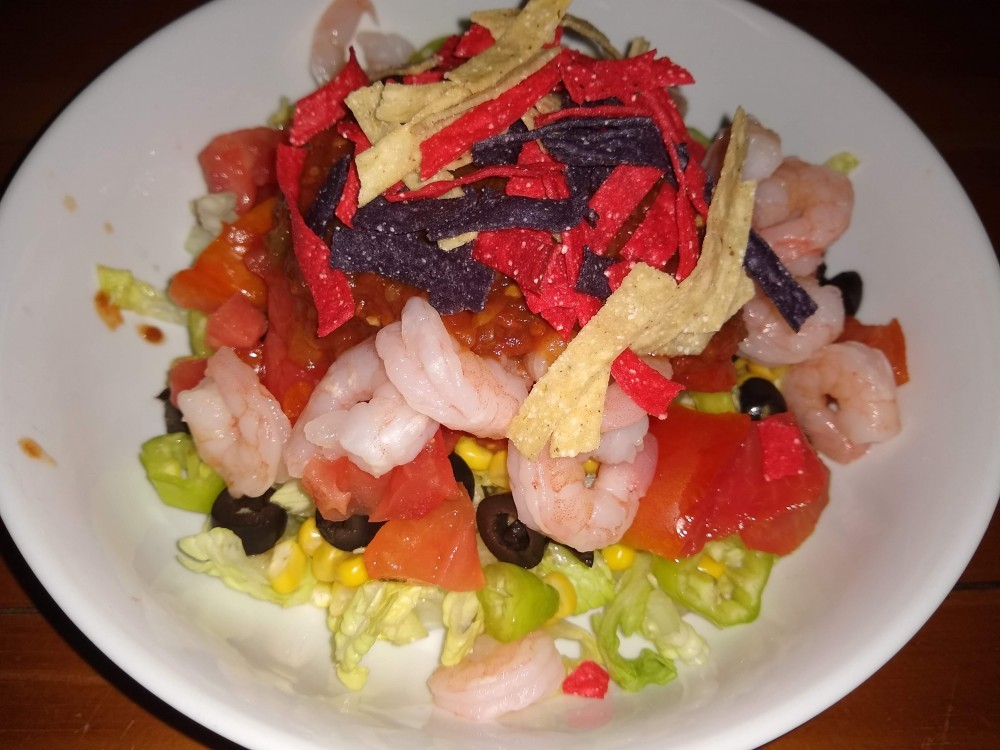 Shrimp Fiesta Salad