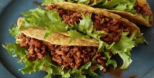 Plant-Based Tacos with Beyond Beef Crumbles