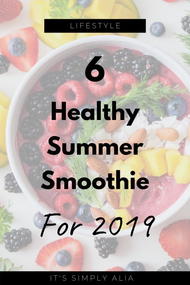 Read more to find out about these new favorite summer smoothie recipes! One could be your new favorite summer smoothie!