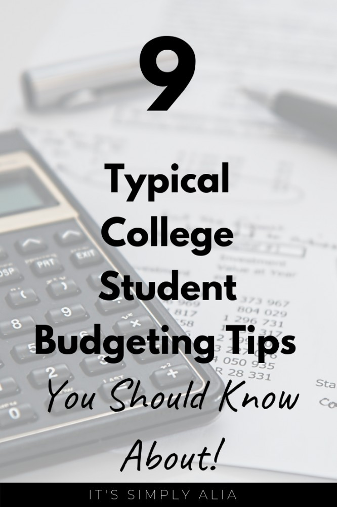College can be a great experience, especially if you know how to budget and save money. Check out these 9 budgeting tips and be stressed-free!