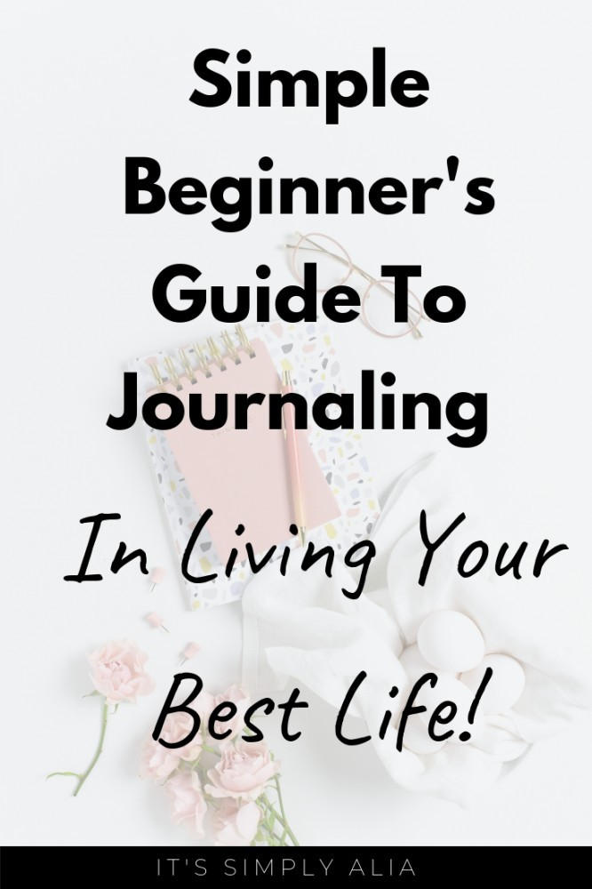 Want to start journaling? Here's a beginner's guide to journaling that will help you in learning more journaling and how it can impact your life in a good way.
