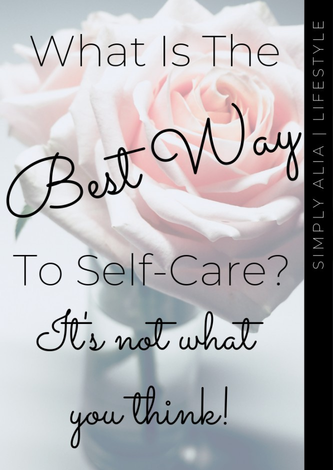 Want to know the best way to self-care? If you do, just know it's not what the popularity says. It's more than just makeup or treating yourself.