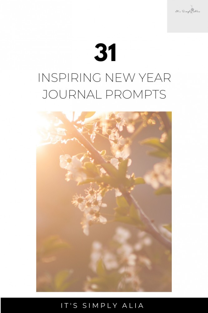 Here are 31 inspiring New year's Journal prompts to help you reflect on the previous year and your expectations for the New Year.