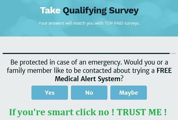 Survey question in what is survey voices