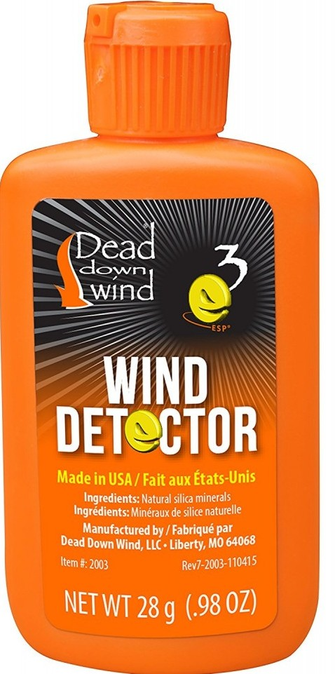 deer hunting scent control tips wind direction indicator