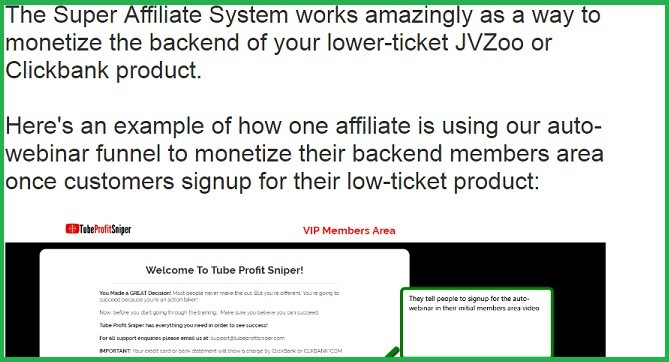 What is Super Affiliate System Promotion inside Super Affiliate System