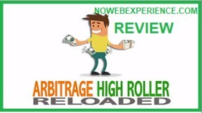 This is an image that asks the question, what is arbitrage High Roller Reloaded? Is it a scam or an easy way to make money?