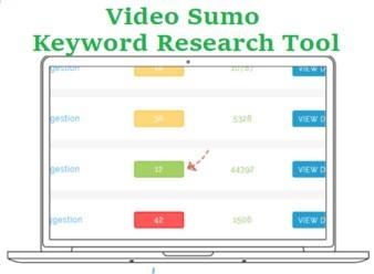 Video Sumo Keyword reaserch tool graphic