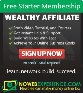 Wealthy Affiliate is better to get stared with than The Lost Code
