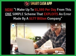 Screenshot of the Smart Cash App sales page